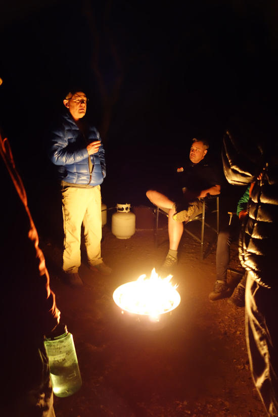Drink by Fire Light