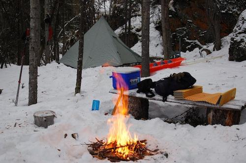 Dog Island Winter Camp