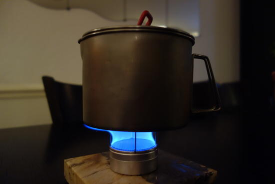 Starlyte In Action with Titan Kettle