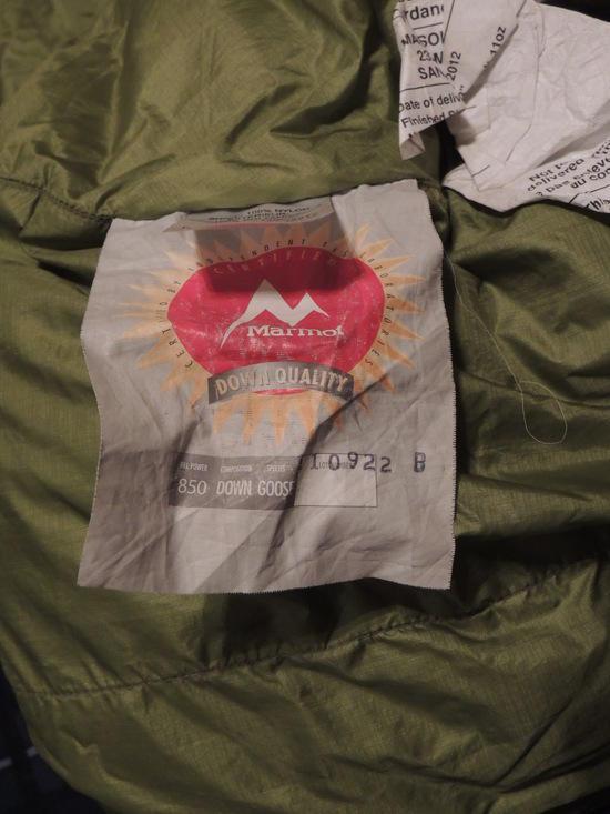 Marmot Hydrogen 30* bag