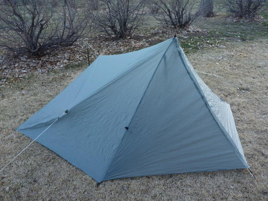 AGG Tarptent, Front