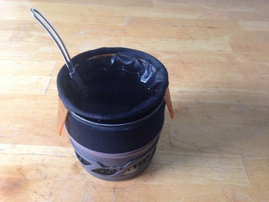 Gsi Drip Coffee Maker : Cutting down a Ti pot - Backpacking Light