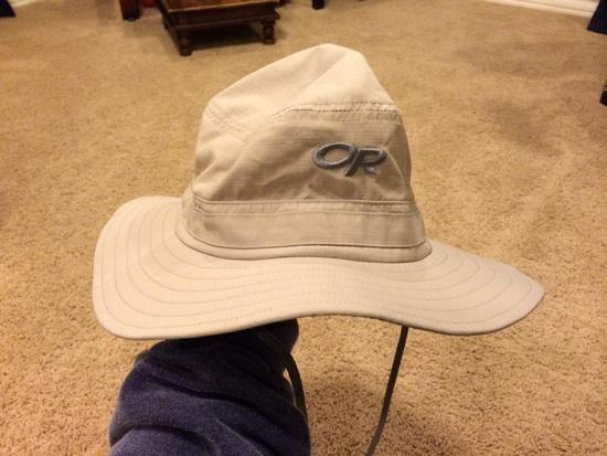 12717838b3e44 FS  Outdoor Research Helios Sun Hat Medium Size - Backpacking Light