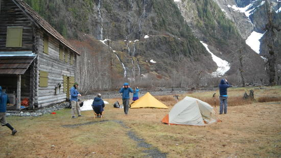 Camping at Chalet