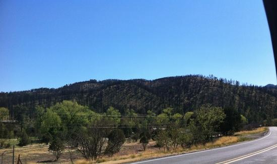 burn north of ruidoso