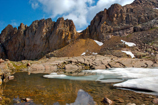 Weminuche Wilderness, Colorado (There's a good chance I'm spelling that wrong).