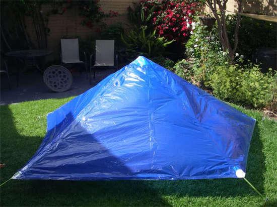Painter's drop sheet tarp