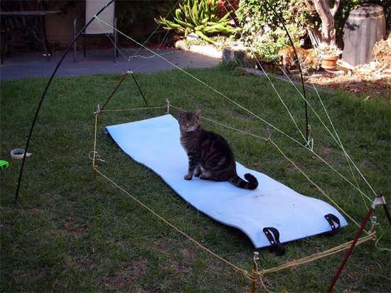 Tent mock up