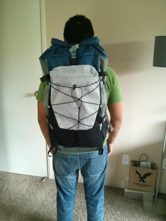 on back