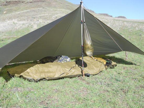 Jimmy Tarp 6x9 & Give me your opinions in my shelter - Backpacking Light