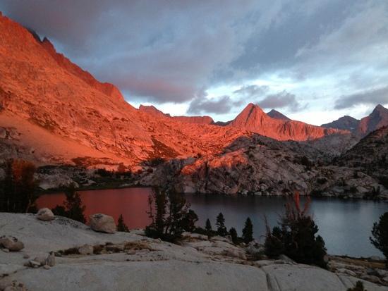 Evolution Lake Alpenglow