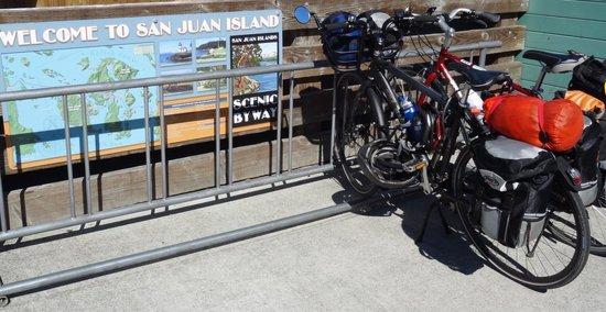 Biking in the San Juan Islands