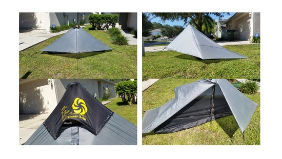 SMD Six Moon Designs Lunar Solo LE @$100 SOLD!  sc 1 st  Backpacking Light & FSu003e Tenkara Rods SMD Tent MLD Quilt - Backpacking Light