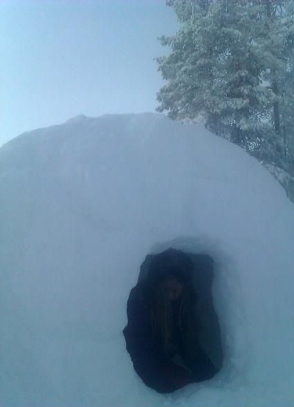 snow tunnel ready