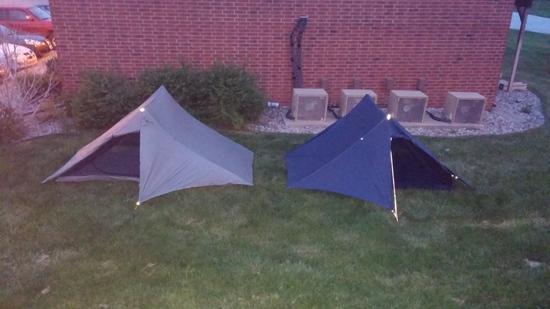 2.5p tent + 2p tent