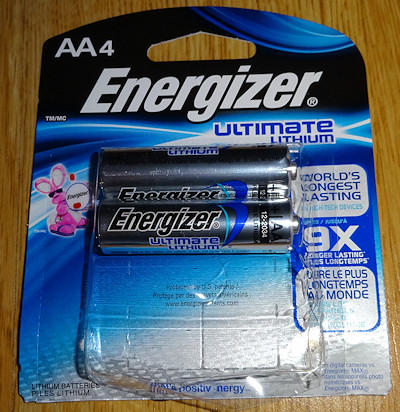 Energizer Ultimate Lithium AAs