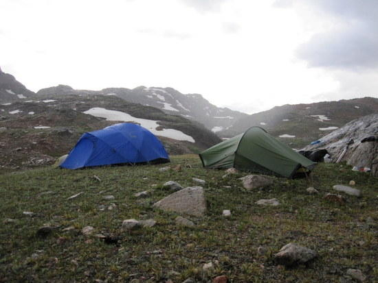 Camp II Beartooth Mtns. 2010