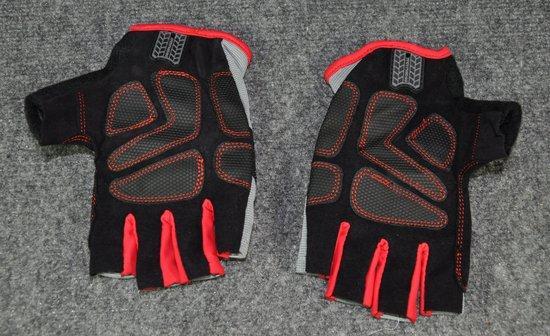 Grease Monkey fingerless gloves