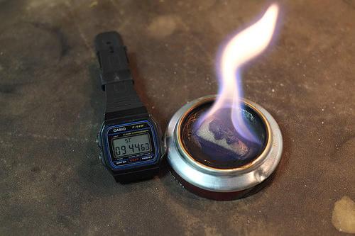 Esbit Pop Can burner 9:44