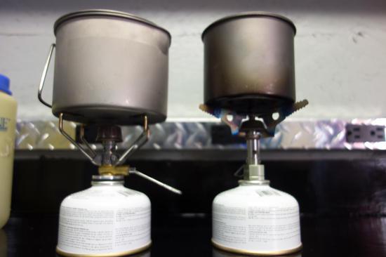 titanium pots