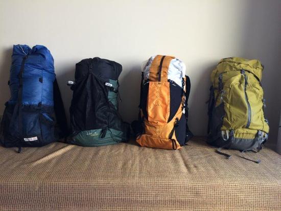 FS: Packs (Gossamer Gear, ULA, SMD, REI) and MSR DragonFly