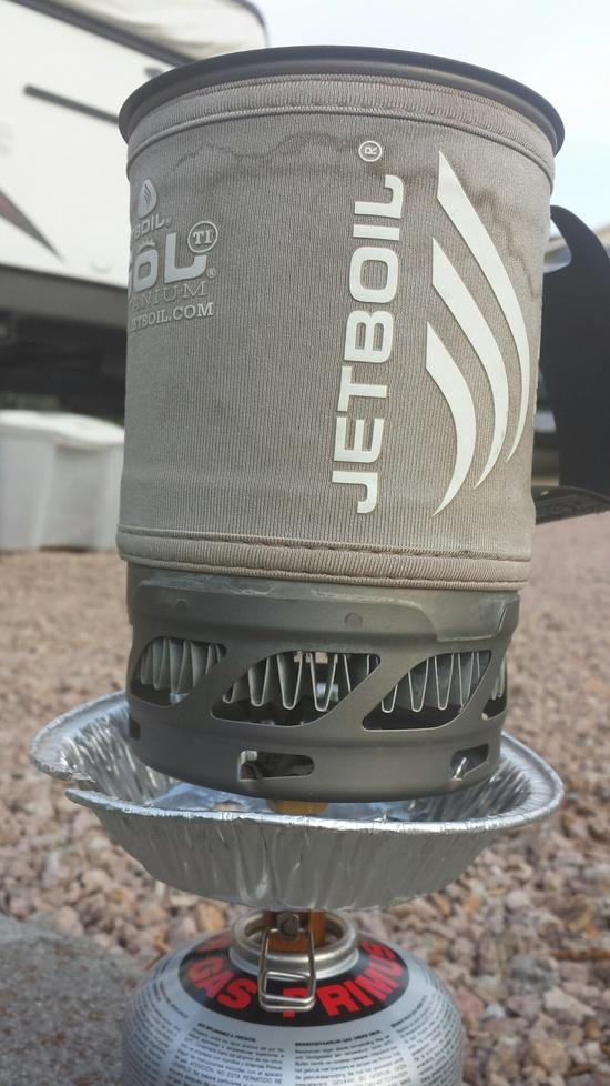 Jetboil windsreen