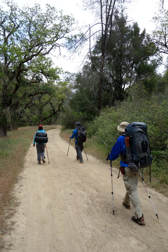 Easy Trekking on Poverty Flats Road to Los Cruzeros