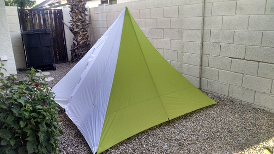 2generalmini & FS: MYOG Pyramid Tarptent (The MiniMid) and Black Diamond ...