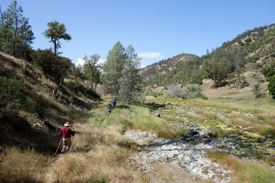 Hiking Toward Bear Mountain Road & Private Property