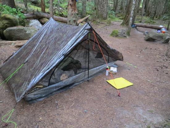 Camp one