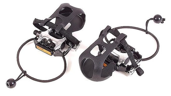 pedals with sling and basket
