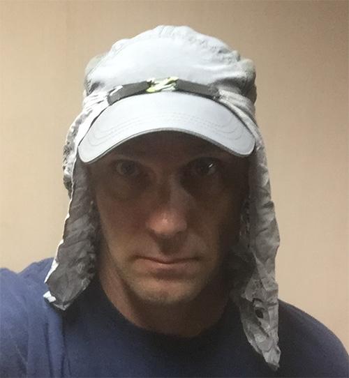1d52734a0 Sun cap/bandana/buff solution - Backpacking Light