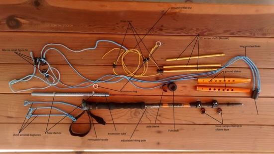 Hanging A Hammock With Adjustable Trekking Poles